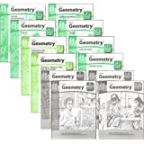 Key to Geometry Complete Set, Books 1-8, plus Answers and Notes