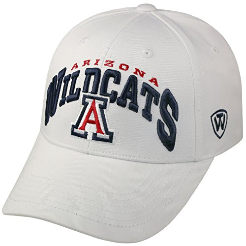Arizona Wildcats Official NCAA Adjustable Whiz Hat Cap by Top of the World (Arizona State Wildcats)