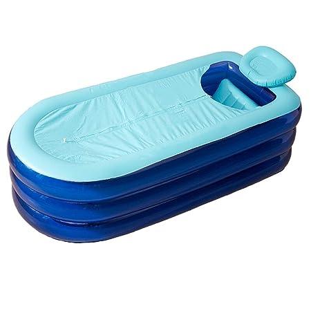 Bañera Hinchable Baño para Adultos Barril Baño de Cuerpo ...