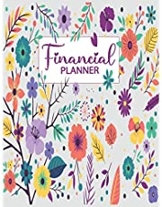 Financial Planner: Bill Payment Log Debt Organizer With Income Expenses and Savings Tracker