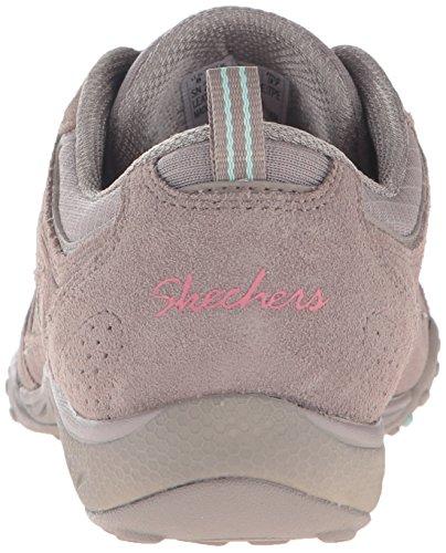 Skechers Sport Frauen atmen einfach viel Glück Fashion Sneaker Taupe