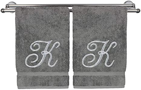 Monogrammed Hand Towel Personalized Inches product image