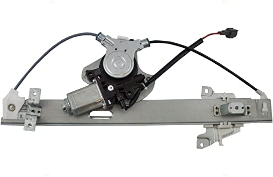 748-584 MR599949 Rear Left Driver Side Power Window Regulator with Motor Compatible for 2004-2012 Mitsubishi Galant