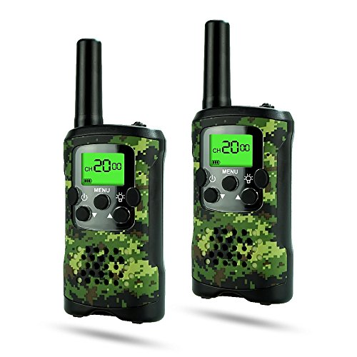 DIMY Toys for 6-12 Year Old Boys, Stocking Stuffer Walkie Talkies for Kids Boys Toys for 3-12 Year Old Boys Gifts Gifts for 3-12 Year Old Girls Birthday Presents 2018 Christmas Gifts Green DJ91 -