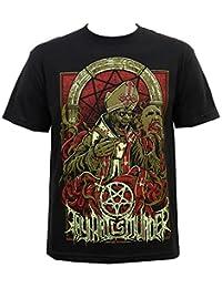 Thy Art Is Murder Men's Evil Pope T-Shirt Black