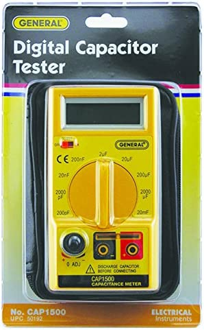 General Tools CAP1500 Automatic Digital Wide Range Capacitor Tester