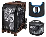 Zuca Sport Bag - Tiger with Lunchbox and Seat Cover (Brown)
