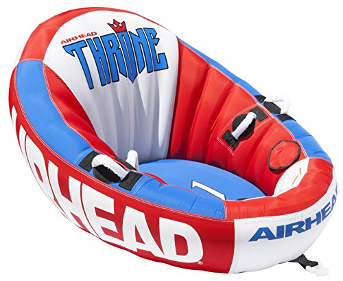 - AIRHEAD THRONE 1, 1 Rider Towable Tube