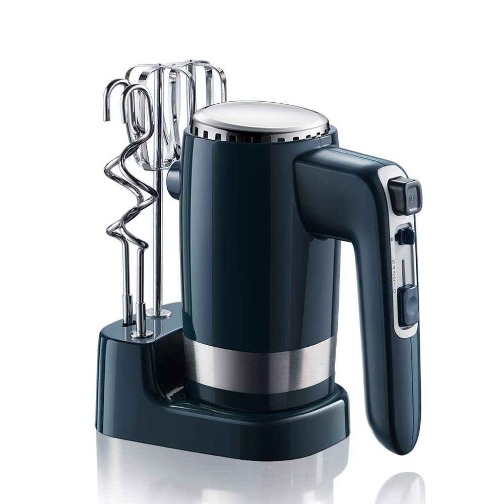 DLINMEI Electric Egg Beater Household Hand-held Blender 300W High Power 10 Speed Control 4 Stick Configuration Cream Machine Mixer Woxiangyaode