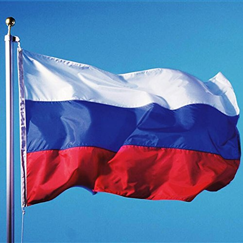 Luxbody(TM) Russian National Flag 90150cm Hanging Flags Office/Activity/Parade/Home Decor Banner for Festival European Cup Olympic Games