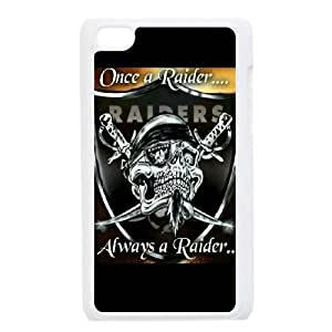 New Design Case for iPod touch4 w/ Oakland Raiders image at Hmh-xase (style 3)
