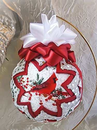Amazon Com Quilted Fabric Christmas Ornament Tree