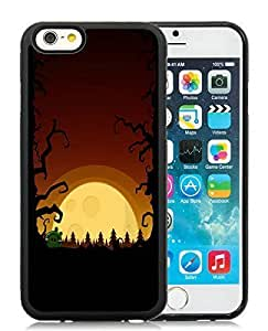 2014 Latest iPhone 6 Case,Halloween Black iPhone 6 4.7 Inch TPU Case 3