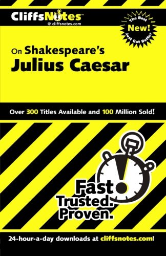 CliffsNotes on Shakespeare's Julius Caesar (Cliffsnotes Literature Guides)