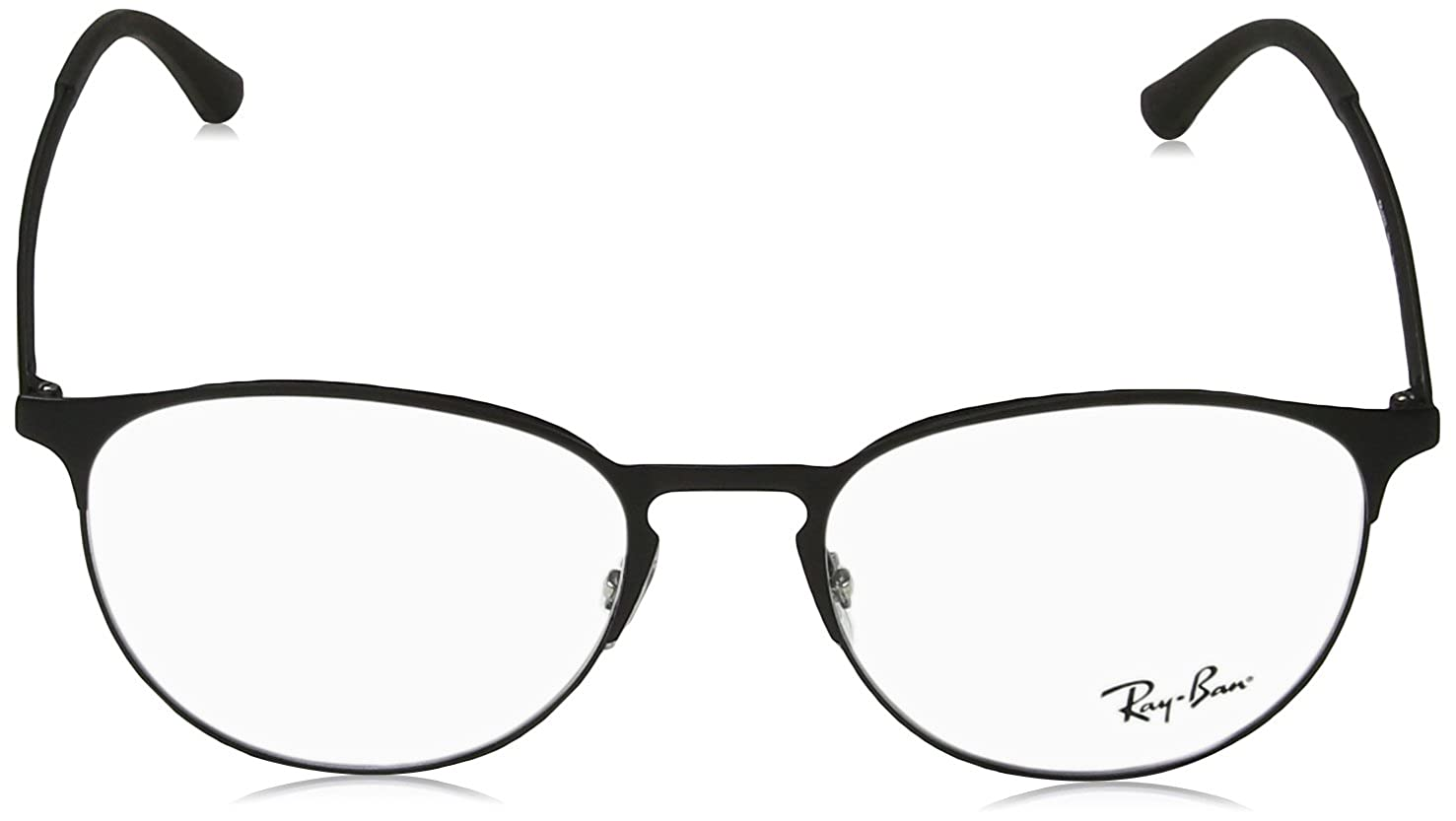 1d3cc90b2a1 Amazon.com  Ray-Ban 0rx6375 No Polarization Round Prescription Eyewear  Frame Top on Matte Black