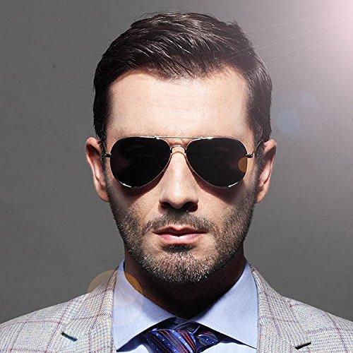 Sunglasses Jeu Vélo Pure Plage wlgreatsp Loisirs de de Polarized de Verres de Argent Hommes qRcgS