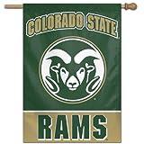 NIB Colorado State Rams CSU Banner Flag & Pole Sleeve