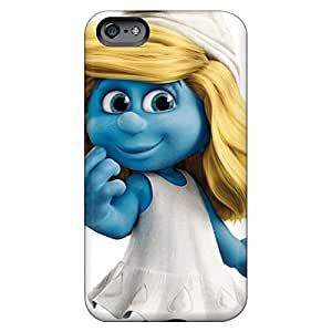 Eco-friendly Packaging mobile phone cases Awesome Phone Cases Excellent iPhone 5 5s - the smurfs mm hd