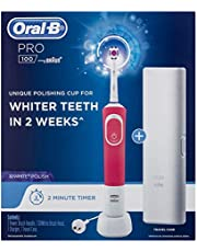 Oral-B PRO 100 3DWHITE POLISH Rechargeable Toothbrush