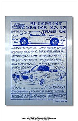 Amazon metal blueprint series no 12 1970 pontiac trans am metal blueprint series no 12 1970 pontiac trans am firebird art print malvernweather Choice Image