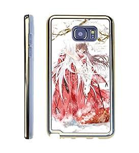 Phone Funda Case For Galaxy Note 5, Inuyasha Custom Soft Funda Case Anti Dirt Protector Unique Cover Design For Samsung Galaxy Note 5