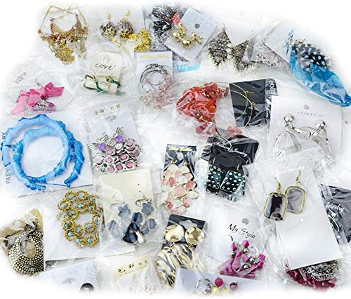 (Magik 40~80 Pairs High End Quality Earrings Must-have Wholesale Jewelry Lot Various Styles and Colors (40)