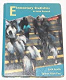 Elementary Statistics in Social Research, Levin, Jack and Fox, James A., 0673469581