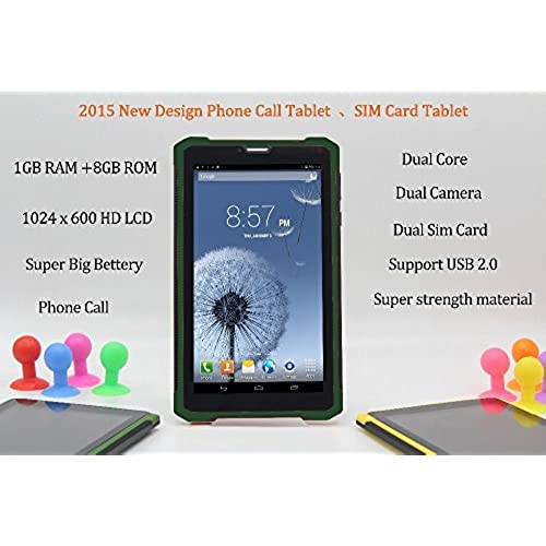 Strong Material 7 Inch Phonc Call Tablet Android4.2 1Gb 8Gb 3G Call Supoet Usb2.0 Wifi Bluetooth Dual Core Dual 7 8 9 10 Tablet^.Stanard Coupons