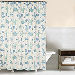 51MTpP%2BlZNL._SS300_ 200+ Beach Shower Curtains and Nautical Shower Curtains