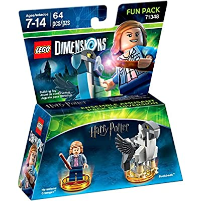 LEGO Dimensions Building Toy Pack (Harry Potter Hermione Granger 71348): Toys & Games
