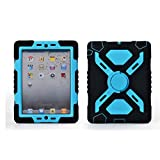 Hot Newest Ipad 2/3/4 Case Silicone Plastic Kid Proof Extreme Duty Dual Protective Back Cover ...