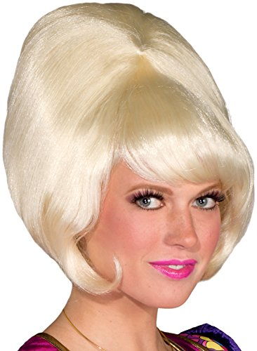 Forum Novelties Women's 60's Bubble Bouffant Wig, Blonde, One Size -