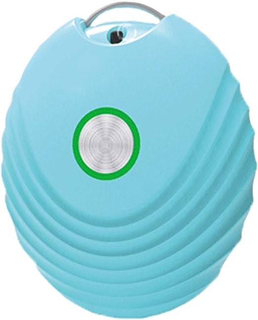 Ddl Wearable Personal purificador de Aire Collar, USB del Filtro de Aire de Iones Negativos generador portátil Eliminador de olores de Litio de Carga -Adults niños,Azul: Amazon.es: Hogar