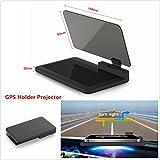 "6"" Car HUD Head Up Display Projector Phone Navigation GPS Holder Non-slip Mat H6"