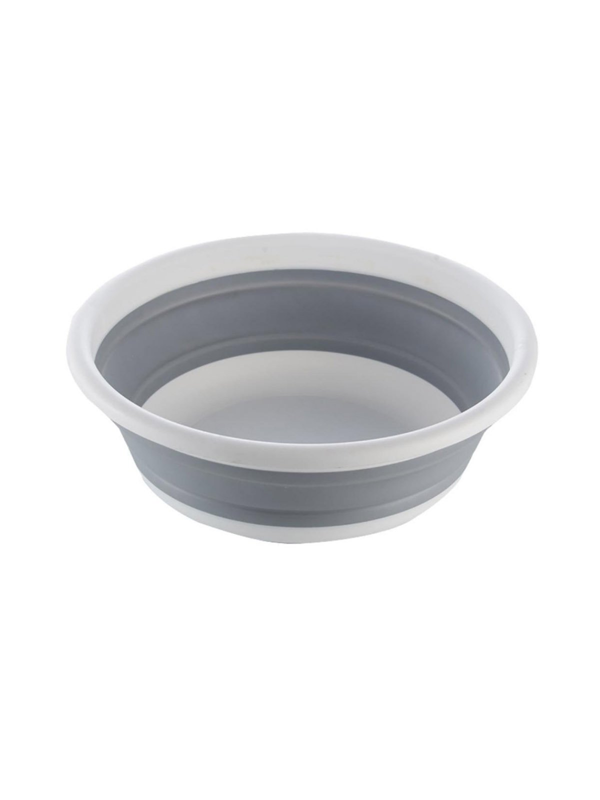 WJL Multi-Functional Portable Folding Silicone Basin Wash Basin and Bucket, for Daily Use or Travel Camping