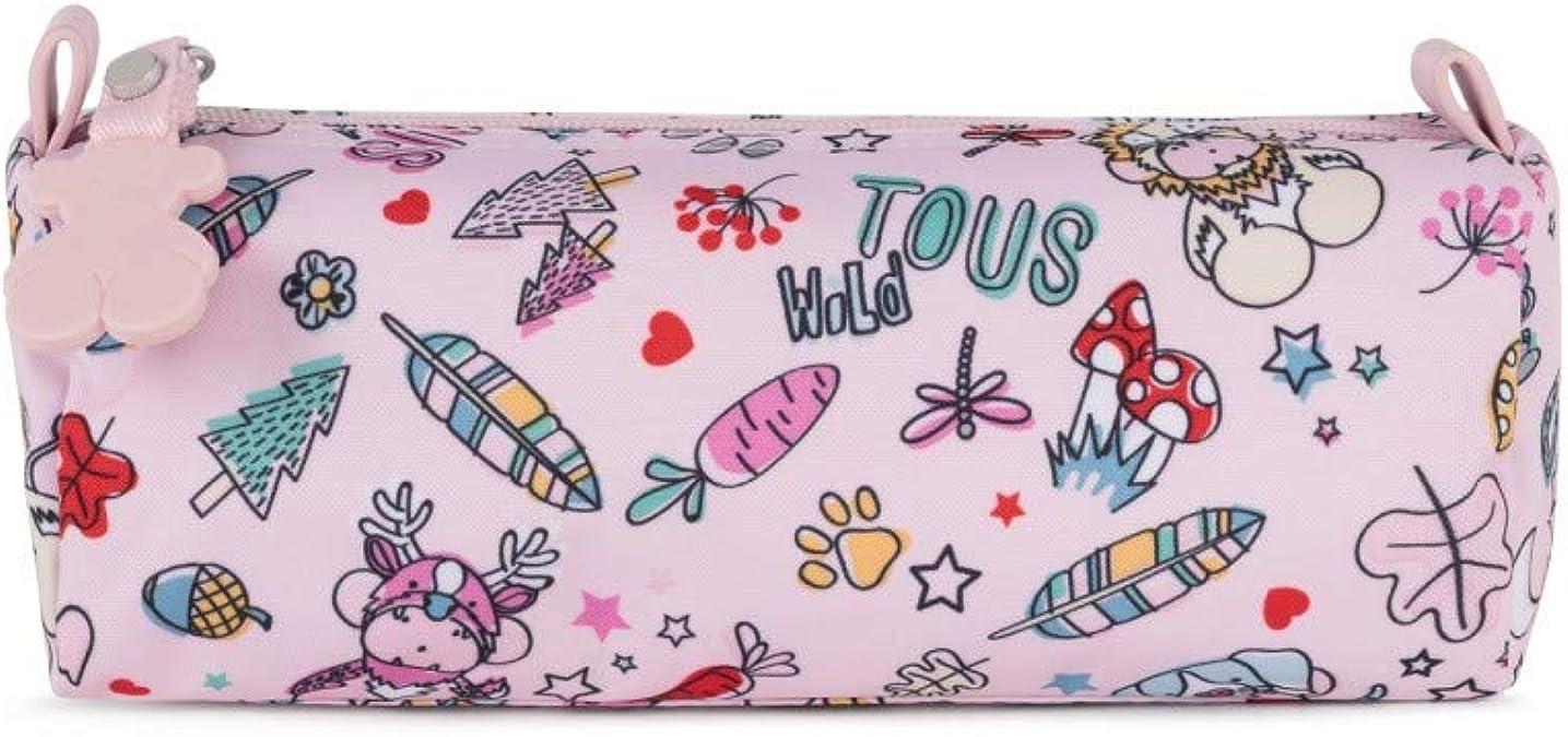 Tous Estuche School Playground de Nylon rosa 895970099: Amazon.es: Zapatos y complementos