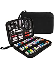 Sewing Kit Luxebell 92 Sewing Accessories Portable Travel Household Needlework Box for Girls&Adults, Sewing Set for Home Travel and Emergency Use