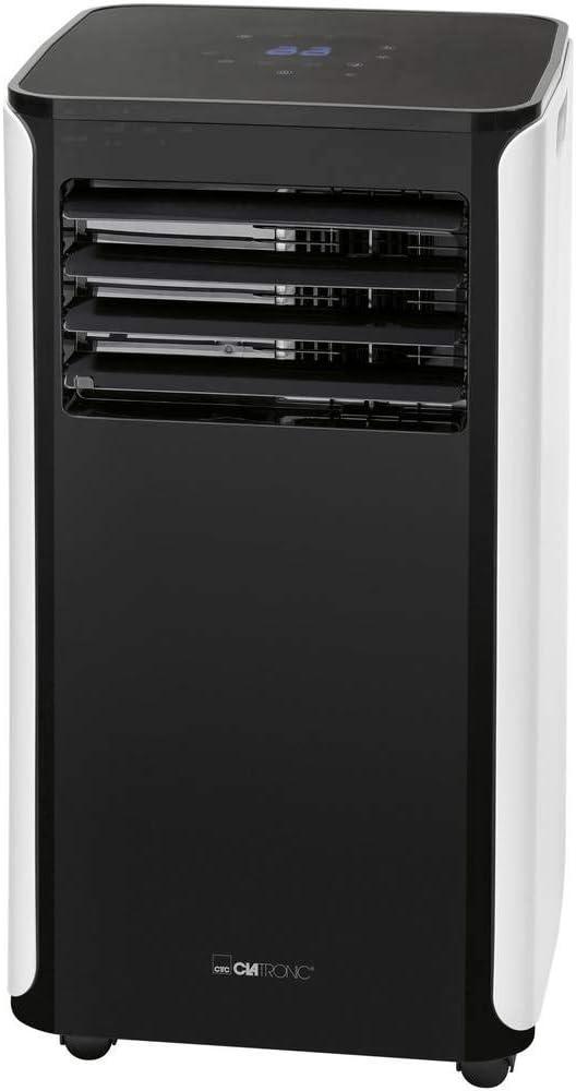 Clatronic CL 3716 Mobiele Airconditioner, 9000 BTU Koelvermogen Voor Grote Ruimtes, Incl. Raamkit Voor Afdichten, 1050 W, 240 V, Zwart, 1 Stuk