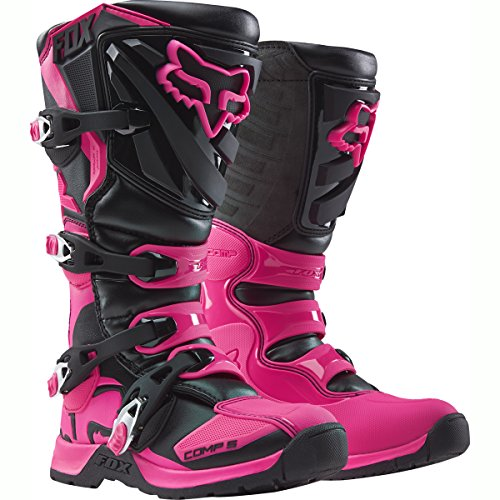(Fox Racing 2019 Youth Comp 5 Boots (4) (BLACK/PINK))