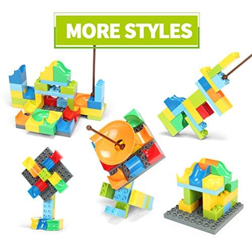 FUNTOK Marble Run Railway Construction Toys Star Travel Game 36pcs Building Blocks Toys for Child by FUNTOK (Image #3)