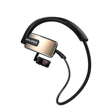 SamMoSon 2019 Auriculares Bluetooth Deporte Bose Beats Deportivos, Awei A883bl Wireless Headphone Ipx4 Impermeable Deportes Al Aire Libre Headphon: ...