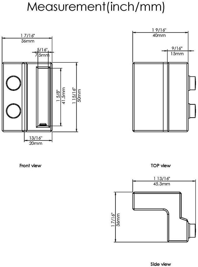 Barras de níquel satinado cepillado para puerta corredera de 2 puertas, para riel plano de 3,81 cm, ancho de 0,63 cm de grosor, Basic: Amazon.es: Bricolaje y herramientas