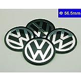 4pcs C002 56.5mm Car Styling Accessories Emblem Badge Sticker Wheel Hub Caps Centre Cover VW Volkswagen B5 B6 MK4 MK5 MK6 Golf Polo PASSAT SAGITAR Jetta CC MAGOTAN Scirocco Eos