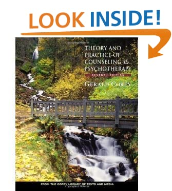 Theory and Practice of Counseling and Psychotherapy (text only) 7th (Seventh) edition by G. Corey