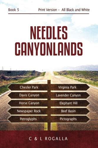 Read Online Needles Canyonlands: Needles, Chesler Park, Elephant Hill, Newspaper Rock, utah parks (Moab to Monument Valley) pdf epub