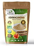 Ashwagandha Root Extract Powder 16oz or 1 lbs. Now 100% Raw Organic Herbal Supplement Superfood, Boost Sexual Vitality Immune System Endurance Energy: Smoothies Shakes: Vegan & Vegetarian: Anti-Stress