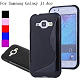 Vingly Backcover for SAMSUNG GALAXY J1 ACE Black pouch (J1aceCover)