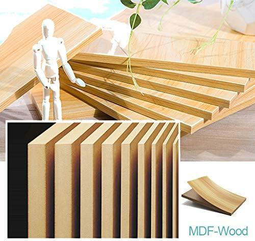 Verbazingwekkend Set van 2 ronde salontafels salontafel bijzettafel woonkamer modern Scandinavisch woonkamertafel wachtkamertafel, hout en metaal, natuur en wit  ICvqKAb