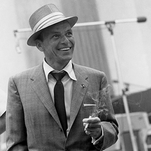 Frank Sinatra Recording At Capitol Records Recording 11 x 14 Photo Celebrity Art and Photographs