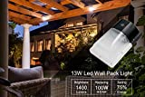 (No Photocell) Kadision LED Wall Light 13W, Wall